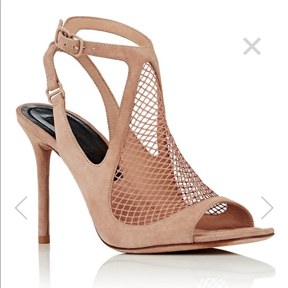 cd506f32a4 Alexander Wang Shoes   Piper Suede Nude Sandals   Poshmark
